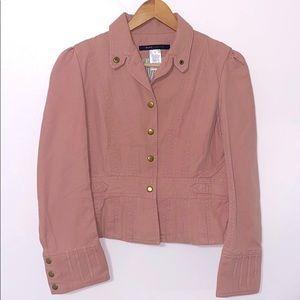 Marc Jacobs Rose Pink Denim Jean Jacket